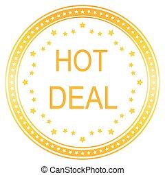 Hot Deals Vector Icon Design