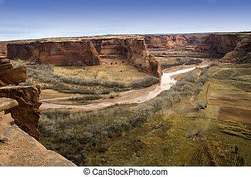 Hot Desert Canyon