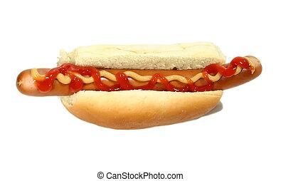 Hot Dog - Isolated hot dog