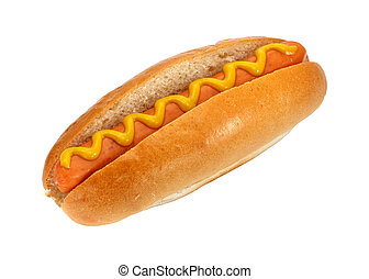 hot-dog, moutarde