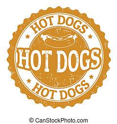 Hot Dog sign