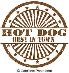 Hot Dog-stamp