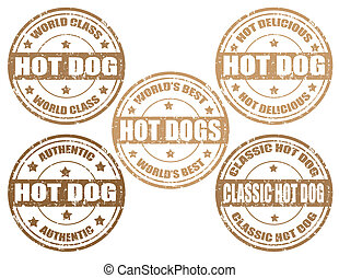 Hot Dog -stamp