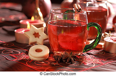 Hot drink for Christmas