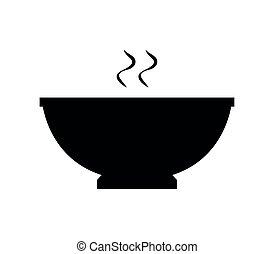 Hot food bowl