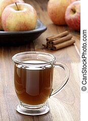 hot fresh apple cider - Nothing beats a mug of hot cider on...