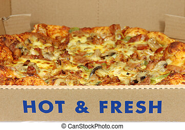 Hot & Fresh Pizza