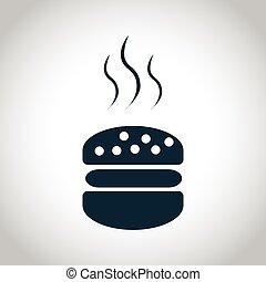 Hot hamburger icon