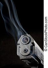 Hot handgun