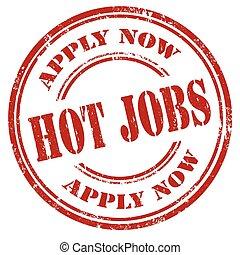 Hot Jobs-stamp