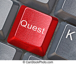 Hot key for quest