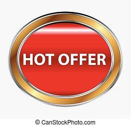 Hot offer button