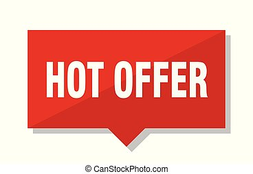 hot offer red tag