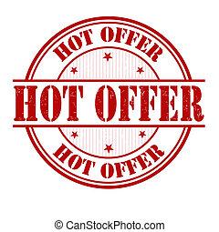 Hot offer stamp