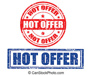 Hot offer-stamp