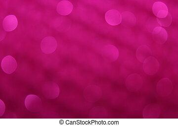 Hot Pink Sequin Blur