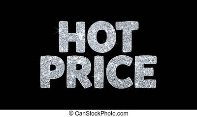 Hot Price Blinking Text Wishes Particles Greetings,...