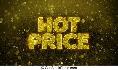 Hot Price Wishes Greetings card, Invitation, Celebration Firework