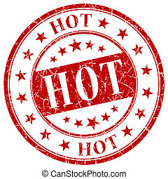 Hot red stamp