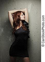 Hot redhead girl