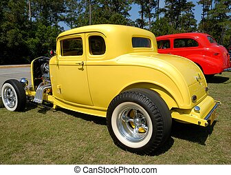 Hot rod cars at show st. augustine florida usa