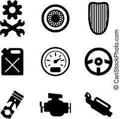Hot Rod Icons