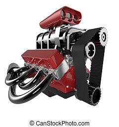 Hot rod V8 Engine
