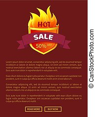 Hot Sal Heraldic Badge Promo Offer 50 Percent Off