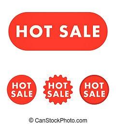 Hot sale button