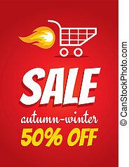 Hot sale - Illustration of a poster for sale