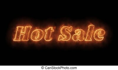 Hot Sale Word Hot Animated Burning Realistic Fire Flame...