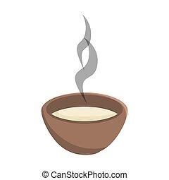 hot soup bowl