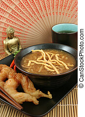 Hot & Sour Soup With Shrimp