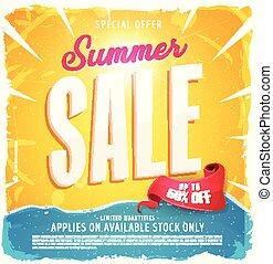 Hot Summer Sale Banner