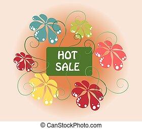 Hot Summer Sale sign