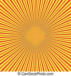 Sun Burst Stripe Background