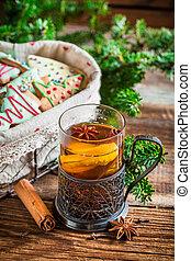 Hot tea for Christmas