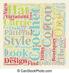 Hot Tips on Different Kinds of Carrie Crochet text background wordcloud concept