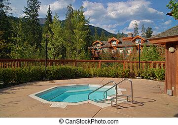 hot tub and vacation condos