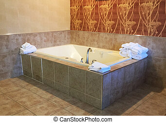 Hot tub Jacuzzi in room