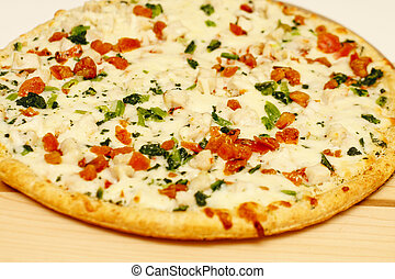 Hot Vegetable Pizza