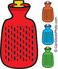 hot water bottle (hot water bag)