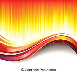 Hot Wave Background