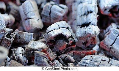 Hot Wood Embers (16:9 Aspect Ratio)