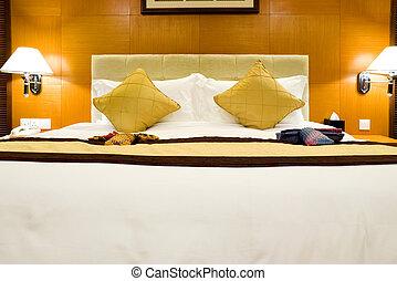hotel, ágy