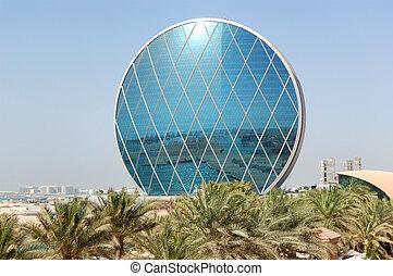 hotel, abu dhabi, circular, uae, edificio, lujo