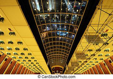 Hotel Atrium Lobby
