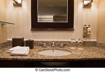 Hotel bathroom - Interior of Hotel bathroom