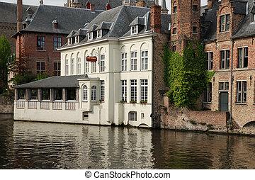 hotel, (belgium), brujas