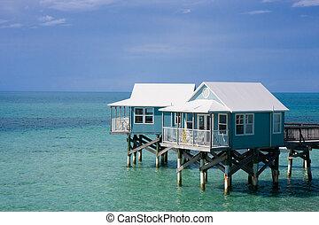 hotel, bermuda, cabanas